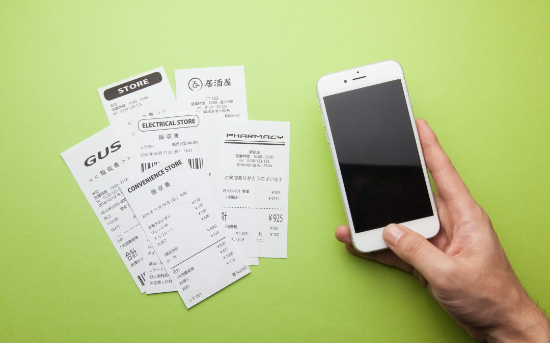 Managing your receipts quickly and easily